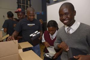 Amazon donating kindles to Harold Cressy School learners