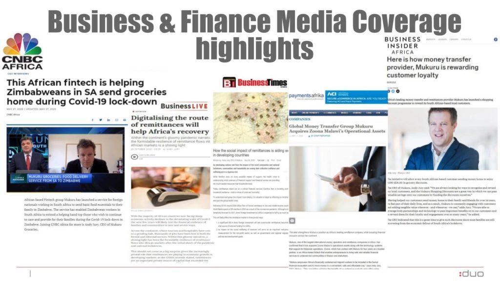 Mukuru business and finance highlights
