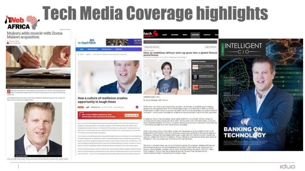 Mukuru tech coverage highlights
