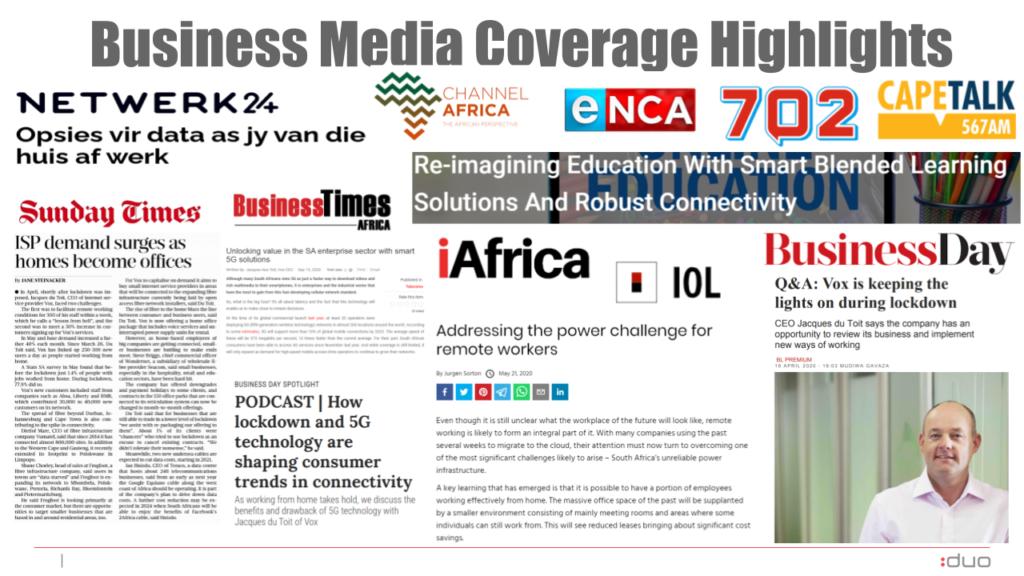 Vox business media pr coverage